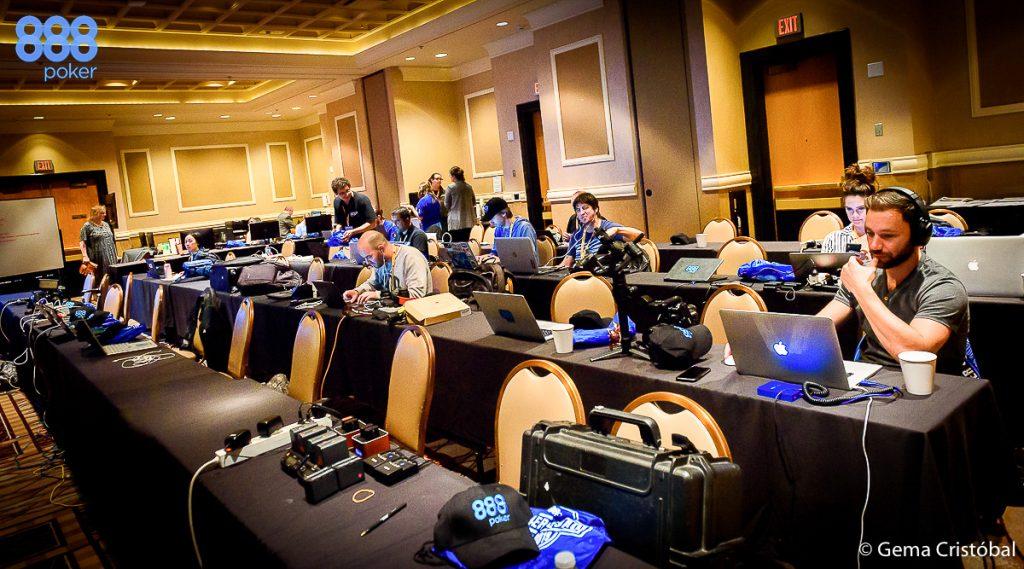 Las Vegas sala de prensa